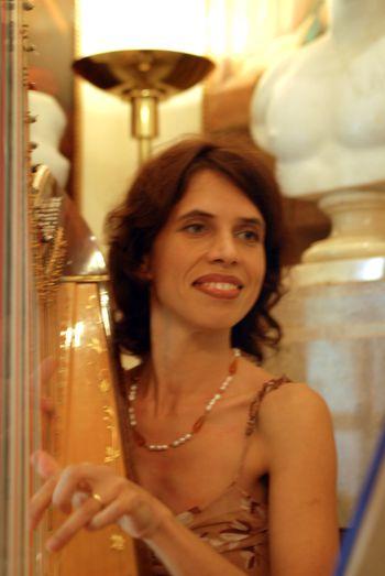 LARISA SMIRNOVA - Professional harpist pianist and organist